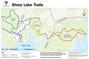 Stony Lake Trails Map - .jpg File
