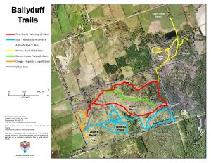 Ballyduff Trails KLT Map